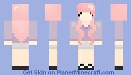 [[ℙasteℓ]l] Pink Pastel Girl | ◍Aℓїαms_◍ Minecraft Skin