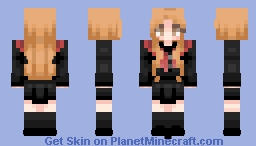 Rosé blackpink playing with fire Minecraft Skin