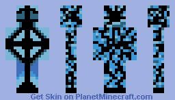 Blue guy Minecraft Skin