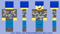 skater kid Minecraft Skin