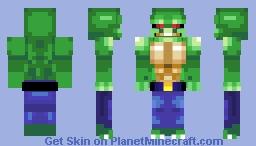 Killer Croc Minecraft Skin