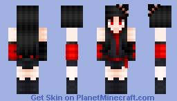 Halloween akame Minecraft Skin