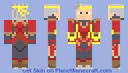 Mobile Legends Chou Thunderfist Skin Minecraft Skin