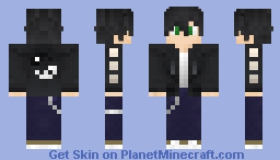OkamiKoi official gaming skin Minecraft Skin