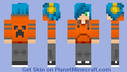 super special awesome ultra special super sexy character in 3D please Diamond Minecraft Skin