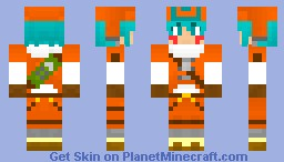 kite from .hack// legend of the twilight bracelet (improved) Minecraft Skin