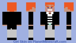 We're no strangers to love. Minecraft Skin