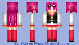 Bubblegum Girl Pink Minecraft Skin
