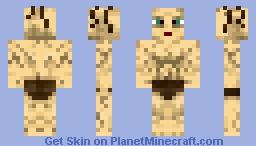 LOTR Gollum - Simple Style Minecraft Skin