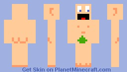 Naked guy ! Minecraft Skin