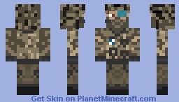 Ghost Recon US Scout Minecraft Skin