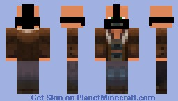 Bane (Tribute To Injuries At Batman Theatre) Minecraft Skin
