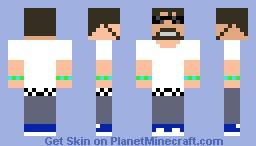 SSundee in summer cloths Minecraft Skin