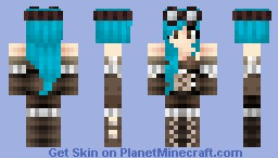 Adventurer Girl Minecraft Skin
