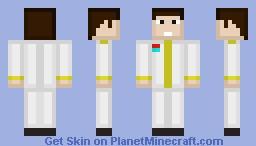 Senior General Emilio Aguinaldo-KKK Minecraft Skin