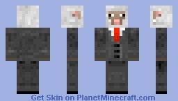Sheep in a suit Minecraft Skin
