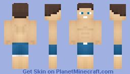Beach Boy Minecraft Skin