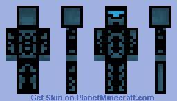 New Robot 3D BETTER Minecraft Skin
