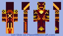 Fire Mage Skin Minecraft Skin