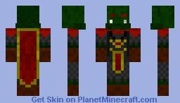 Orc cheif Minecraft Skin