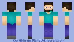 Cartoon Steve [View in 3D] Minecraft Skin