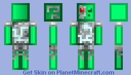 SlimeBorg Minecraft Skin