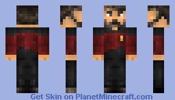 William Riker Minecraft Skin