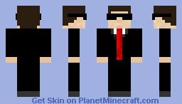 Man in a suit Minecraft Skin