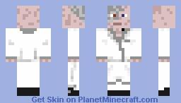 Doctor dimension normal eyes Minecraft Skin