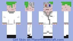 Doctor dimension crazy hair Minecraft Skin