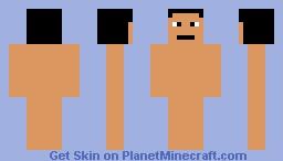 Nude Guy Minecraft Skin