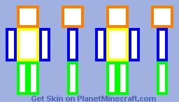 Easy skin frame Minecraft Skin