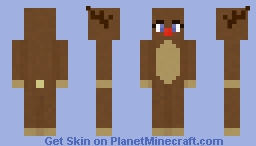 Reindeer - Skinmas Day 6 Minecraft Skin