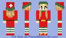 Christmas Elf - Skinmas Day 5 Minecraft Skin
