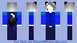 Wolf boy Minecraft Skin