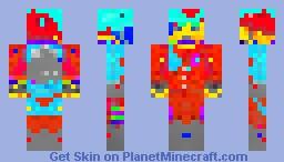 UFO man Minecraft Skin