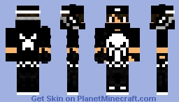 💀🔲The Gamer🔲💀 Minecraft Skin
