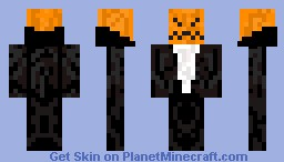 The Headless Horseman Minecraft Skin