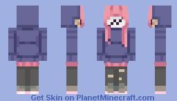 Susie // Dead By Daylight Minecraft Skin