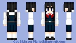 Tamako Kitashirakawa | Tamako Market | Anime cartoon Minecraft Skin