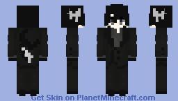 I'm just an Orca on a stroll || Idate || Okegom/Mogeko Minecraft Skin