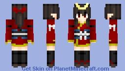 Samurai girl | My create Minecraft Skin