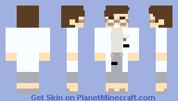 (SCP) Dr Rachel Mackenzie Minecraft Skin