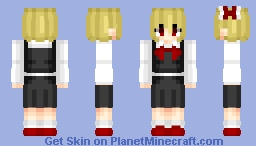 Rumia (ルーミア) | Touhou (東方) Project | Anime game Minecraft Skin