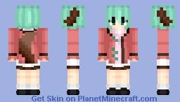 Kyouko Kasodani (幽谷 響子) | Touhou (東方) Project | Anime game Minecraft Skin