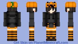 Pumpkin head | Halloween | My create Minecraft Skin
