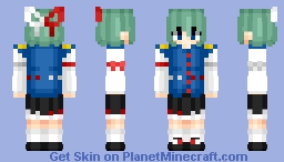 Eiki Shiki (四季映姫・ヤマザナドゥ) | Touhou (東方) Project | Anime game Minecraft Skin