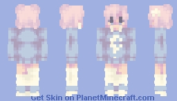 𝑚𝑜𝑜𝑛 𝑘𝑖𝑠𝑠𝑒𝑑 ✰ Minecraft Skin