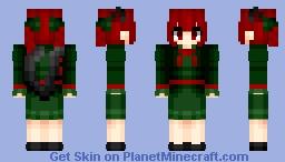 Rin Kaenbyou (火焔猫 燐) | Touhou (東方) Project | Anime game Minecraft Skin