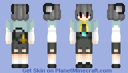 Nazrin (ナズーリン) | Touhou (東方) Project | Anime game Minecraft Skin